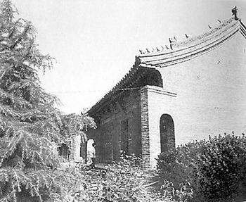 河南三门峡市灵宝县的太初宫,相传老子在此写下《道德经》