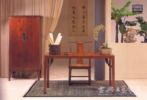 阅古杂谈:中国书法与古典家具的内在联系