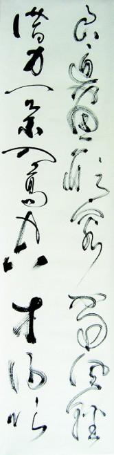 丁仕美草书书法欣赏 临江仙·风筝